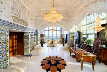 Освещение в восточном стиле – арабские мотивы и мавританский колорит