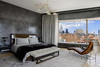Свет в спальне – романтика и комфорт