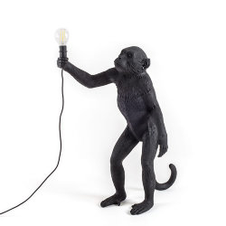 Monkey Floor Lamp Black Торшер