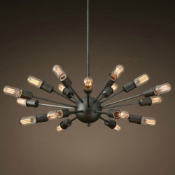 Люстра Loft Sputnik Chandelier Elliptical