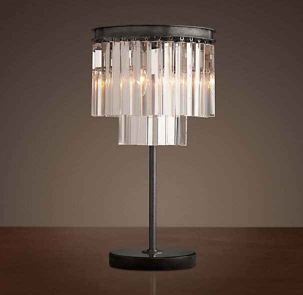 Лапма настольная Odeon Clear Glass Table Lamp
