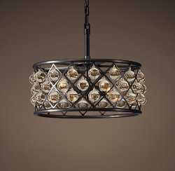 Люстра Spencer Hoop Hanging Chandellier 40