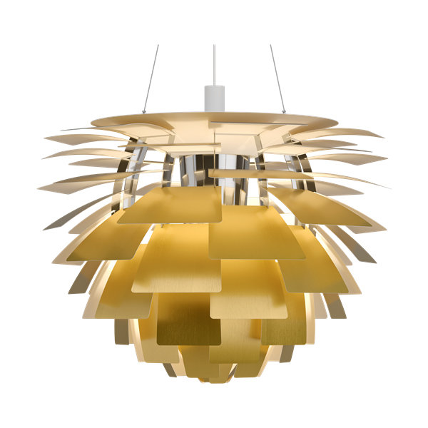 Люстра PH Artichoke Gold D80 by Poul Henningsen in 1958