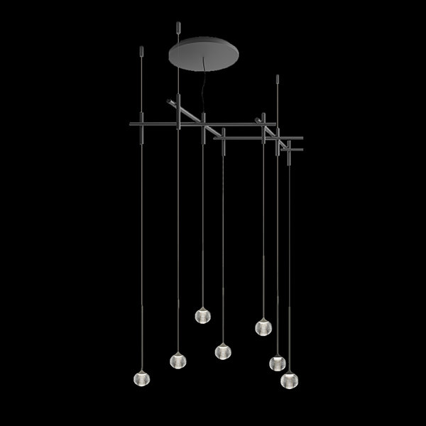 Светильник Algorithm Mini 7 Pendant By Vibia