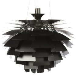 Люстра PH Artichoke Black D80 by Poul Henningsen in 1958