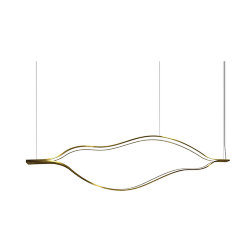 Henge Tape Light L140 Brass