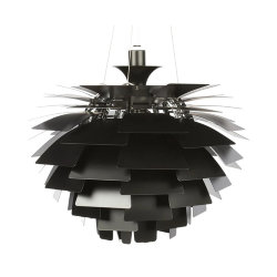 Люстра PH Artichoke Black D60 by Poul Henningsen in 1958