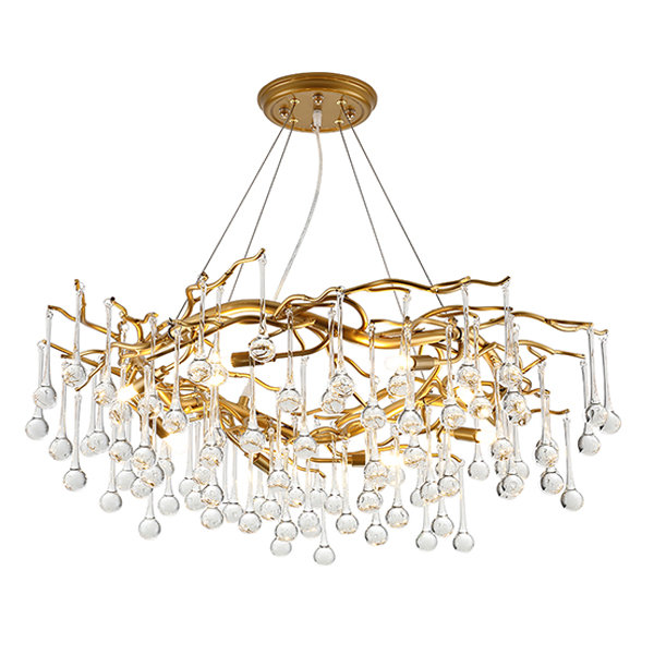 Люстра Droplet Chandelier D100 by GLCrystal