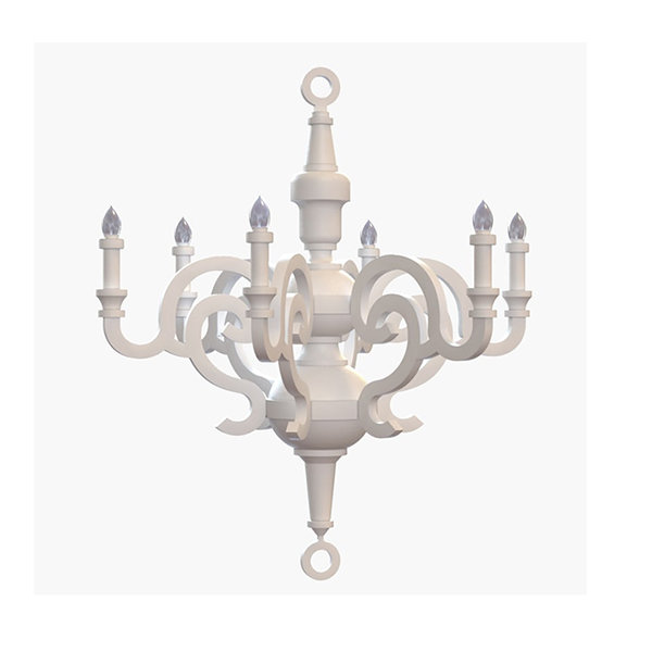 Люстра Moooi White Paper Chandelier D70