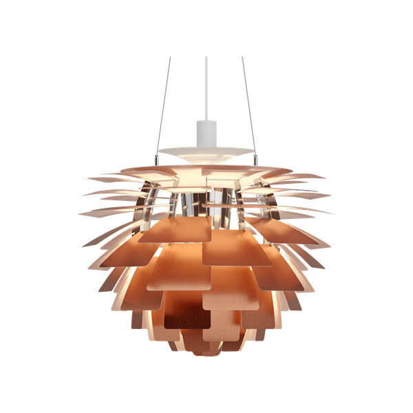 Люстра PH Artichoke Copper D48 by Poul Henningsen in 1958