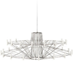 Люстра Moooi Coppelia Small D110 Nickel