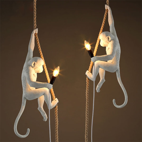 Подвесной светильник The Monkey Lamp Ceiling by Seletti