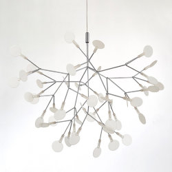 Люстра Moooi Heracleum 2 Small D72 Nickel by Bertjan Pot