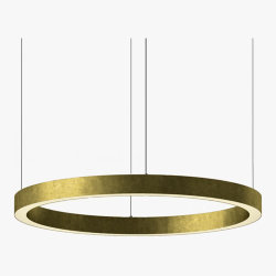 Henge Light Ring Horizontal D90 Brass