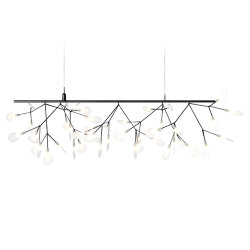 Люстра Moooi Heracleum Endless Single Black by Bertjan Pot