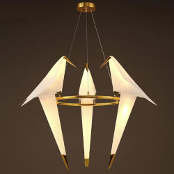 Люстра подвесная Moooi Perch Light Branch Round Trio