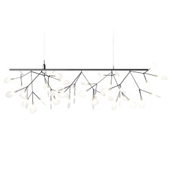 Люстра Moooi Heracleum Endless Single Nickel by Bertjan Pot
