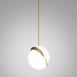 Crescent Light by Lee Broоm D30 Gold