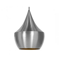 Светильник Beat Light Fat by Tom Dixon Nickel