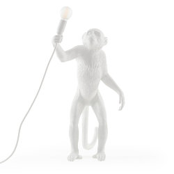 Monkey Floor Lamp White Торшер