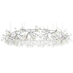 Люстра Moooi Heracleum The Big O D210 Nickel by Bertjan Pot