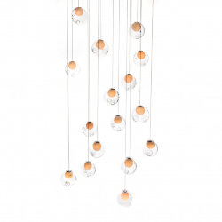 Люстра Bocci 28.16 Rectangle Pendant Chandelier by Omer Arbel