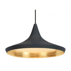 Светильник Beat Light Wide by Tom Dixon Black