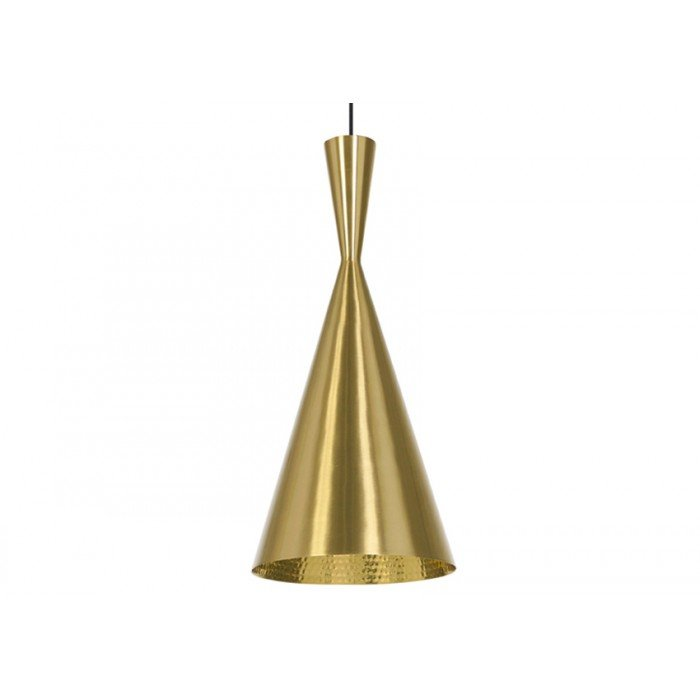 Светильник Beat Light Tall by Tom Dixon Gold