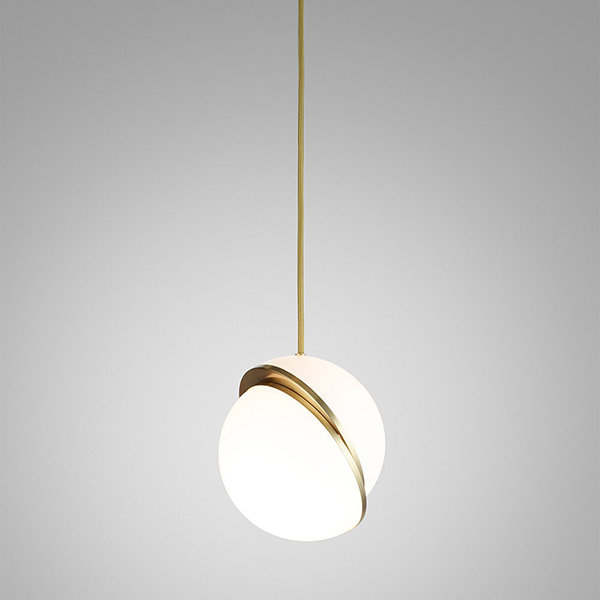 Crescent Light by Lee Broоm D25 Gold