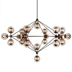 Люстра Roll & Hill Modo Chandelier 21 Globes