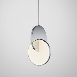 Светильник Eclipse Pendant Light Chrome by Lee Broоm