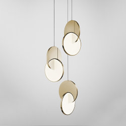 Люстра Eclipse Chandelier Gold by Lee Broоm