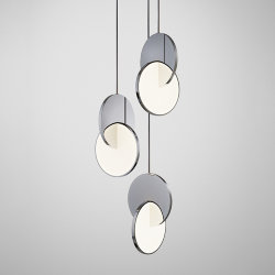 Люстра Eclipse Chandelier Chrome by Lee Broоm