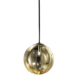 Светильник Puppet M Amber Pendant Light D22