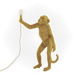Monkey Floor Lamp Gold Торшер