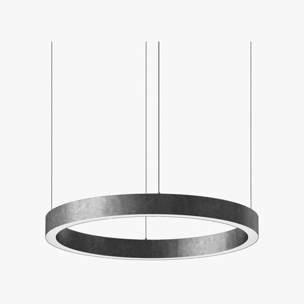 Henge Light Ring Horizontal D70 Nickel