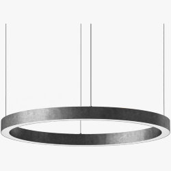 Light Ring Horizontal D100 Nickel
