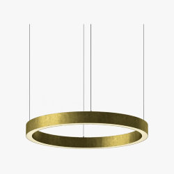 Light Ring Horizontal D70 Brass