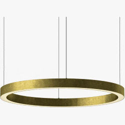Light Ring Horizontal D100 Brass