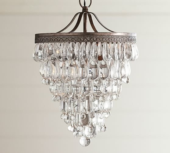 Люстра Clarissa Crystal Drop Sconce Hanging