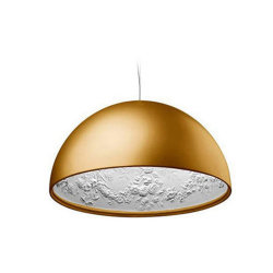 Люстра Skygarden Flos Gold D60 by Marcel Wanders