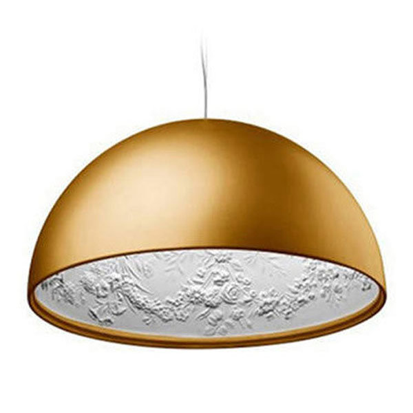 Люстра Skygarden Flos Gold D90 by Marcel Wanders
