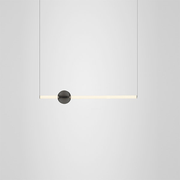 Orion Tube Light Black by Lee Broom