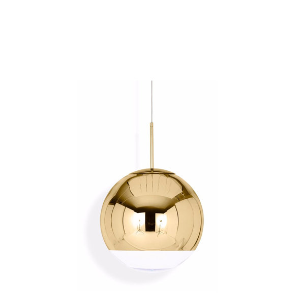 Светильник Mirror Ball Gold by Tom Dixon D15